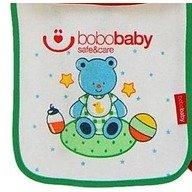 BoboBaby baveta cu scai mica - Ursulet verde
