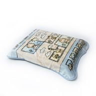 BoboBaby - Paturica plus in cutie 80x110 cm , Bebelusi , blue