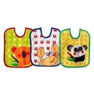 Bobobaby - Set 3 bavete Koala, Rac, Panda