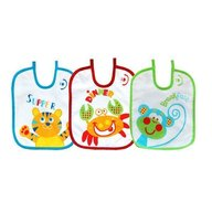 BoboBaby - Set 3 bavete tigru, rac, maimuta