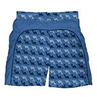 Iplay - Boxeri inot baieti cu scutec si insert integrat Splash, 24 luni, Blue
