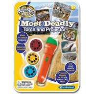 Brainstorm Toys - Proiector cele mai periculoase animale
