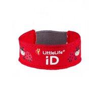 LittleLife - Bratara de siguranta din material textil cu buburuze