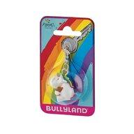 Bullyland - Breloc Unicornul dolofan cu ursulet
