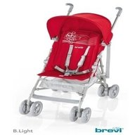 Brevi - Carucior B.Light 233, Rosu