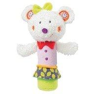 Brevi Soft Toys - Jucaria muzicala Popice Soricelul Fluo