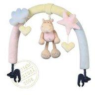 Brevi Soft Toys - Jucarie pentru carucior hipopotam