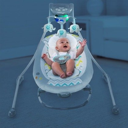 InGenuity – 60476 Leagan si Balansoar 2 in 1 Cradling Swing- Avondale