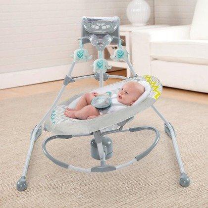 ingenuity 60476 leagan si balansoar 2 in 1 cradling swing
