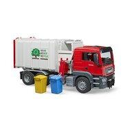 BRUDER - Masina de gunoi Camion MAN TGS , Cu incarcare laterala