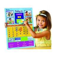 Learning Resources - Calendar educativ magnetic
