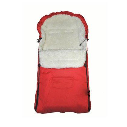 Camicco - Sac de iarna pentru carucior cu interior din lana pentru 0-3 ani rosu