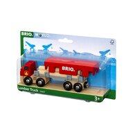 BRIO - Vehicul de lemn Camion , Cu cherestea