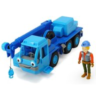 Dickie Toys - Camion Bob Constructorul Action Team Lofty cu 1 figurina Wendy