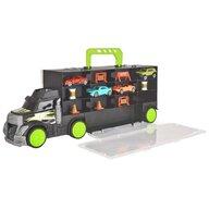Dickie Toys - Camion Carry and Store Transporter Cu accesorii, Cu 4 masinute