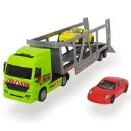 Dickie Toys - Camion cu trailer si 2 masini Porsche
