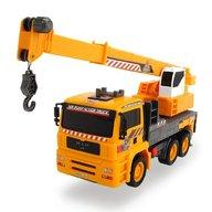 Dickie Toys - Camion Man Air Pump Mobile Crane cu macara