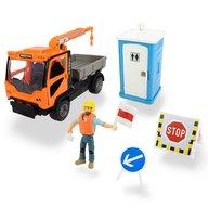 Dickie Toys - Camion Playlife M.T. Ladog Service Set cu figurina si accesorii