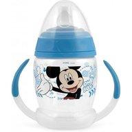 Lulabi - Cana cu maner 4 luni First Sips Mickey, Albastru
