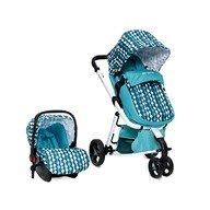 Cangaroo - Carucior copii 3 in 1 Sarah Blue
