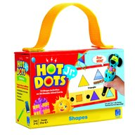 Learning Resources - Carduri Junior Hot dots Forme geometrice