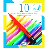 Djeco - Carioci pensula, culori pop
