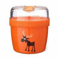 Carl Oscar - Caserola N'Ice Cup L, 0.6 l, compartimentata, cu disc de racire, Orange
