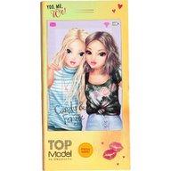 Depesche - Carnetel de colorat in forma de telefon mobil Top Model cu muzica, Candy