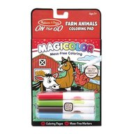 Melissa and Doug carnetel de colorat magicolor animale de la ferma