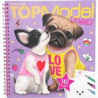 Depesche - Carte de colorat Create your Doggy Top Model