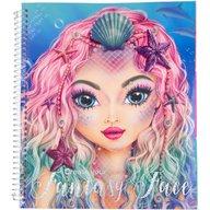Depesche - Carte de colorat Create your Fantasy Face