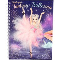 Depesche - Carte de colorat Create your Fantasy Model Ballerina