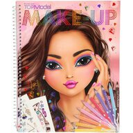 Depesche - Carte de colorat Top Model, Create your make-up