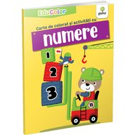 Editura Gama - Carte de colorat si activitati cu numere