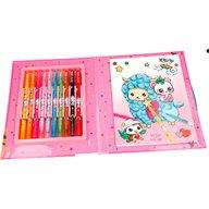 Depesche - Carte de colorat + 10 Carioci Cute Friends Manga