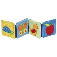 Goki - Carte din lemn Fosnitoare Cu tematica pentru bebelusi