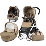 Peg Perego - Carucior 3 in 1, Book Plus 51 Black&White Class