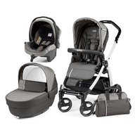 Peg Perego - Carucior 3 in 1,  Book Plus S Black&White Class