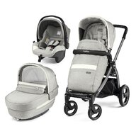 Peg Perego - Carucior 3 In 1, Book Plus S, Titania, Luxe Pure