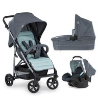 Hauck - Carucior 3in1 Rapid 4 plus trioset, Grey, Mint