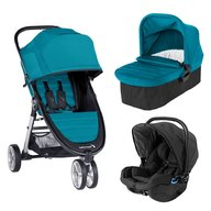 Baby Jogger - Carucior City Mini 2, sistem 3 in 1, Capri