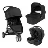Baby Jogger - Carucior City Mini 2, sistem 3 in 1, Jet