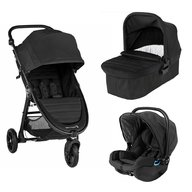 Baby Jogger - Carucior City Mini GT2, sistem 3 in 1, Jet