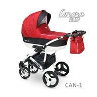 Camarelo - Carucior copii 2 in 1 Carera New Can-1, Rosu