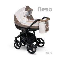Camarelo - Carucior copii 2 in 1 Neso Ne-6, Bej/Maro