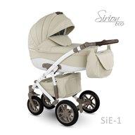 Camarelo - Carucior copii 2 in 1 Sirion Eco SiE-1, Crem