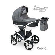Camarelo - Carucior copii 3 in 1 Carera New Can-3, Gri inchis