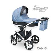 Camarelo - Carucior copii 3 in 1 Carera New Can-6, Albastru