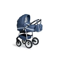 MyKids Carucior copii 3 in 1  Germany Blue Inchis