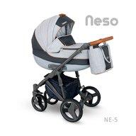 Camarelo - Carucior copii 3 in 1 Neso Ne-5, Gri